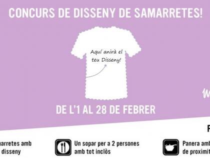 Concurs de Disseny de Samarretes