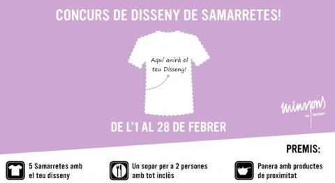 Minyons de Terrassa - Disseny samarreta minyons