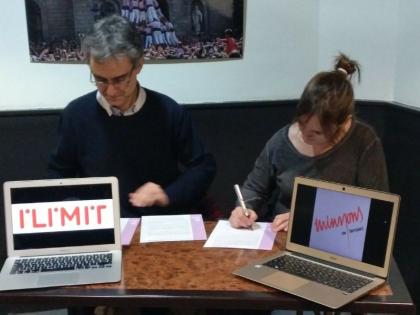 Acord de col·laboració amb ILIMIT