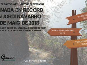 Caminada en record d'en Jordi Navarro